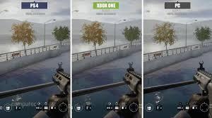 siege xbox one rainbow six siege pc vs xbox one vs ps4 grafikvergleich