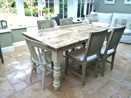 Shabby Chic Farmhouse Dining Table By Room Furniture For Sale Style Amusing Of Creative Kitchen Set With Bench Chi