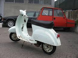 Restauro Piaggio Vespa 50 N 1964