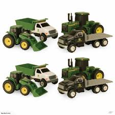 100 John Deere Toy Trucks 8pc Carded Diecast S Tractor Farming Vehicles