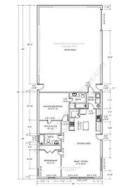 Barndominium Floor Plans 40x50 by 2 Bedroom 2 Bath Barndominium Floor Plan For 30 Foot Wide Building