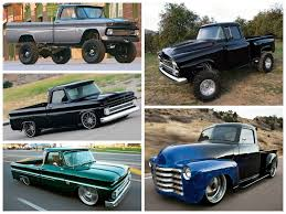 Top 5 Coolest Lifted And Lowered Classic Chevy Trucks