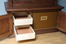 Amish Cabinet Makers Arthur Illinois by Woodloft Com Solid Maple Drawers And Solid Safe For Ammo Storage