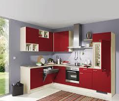 chice küche xora in kräftigem rot küche block küche