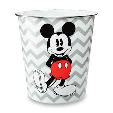 Mickey Mouse Bathroom Decor Kmart by Disney Mickey Mouse Waste Can Home Bed U0026 Bath Bath Bath
