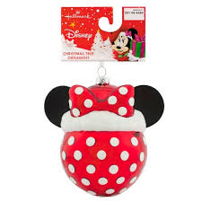 Hallmark Minnie Mouse Disney Glass Ball Christmas Ornament Target