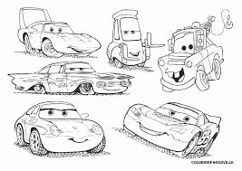 Pictures Coloring Disney Cars Book Pages On