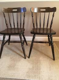 2 Dark Wood Chairs | In Cambridge, Cambridgeshire | Gumtree Painted Vintage Rocking Chair Dark Bluepainted Slatback Armed Sale 15 Best Paint Colors For Small Rooms Pating Antique Spinet Below Fitted Bookcase In Cottage Living Room Update A Nursery Glider The Diy Mommy Shabby Chic Blue Painted Rocking Chair Fredericia Fniture Stingray Design Adirondack Flat Shine Company 4332dg Vermont Green Lincombe Teak Hardwood Garden With Cushion Complete Guide To Buying Polywood Blog