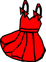 Dress Red Short Summer