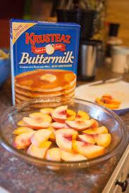 Bisquick Pumpkin Puff Pancakes by Peach Cobbler Pancake Bake