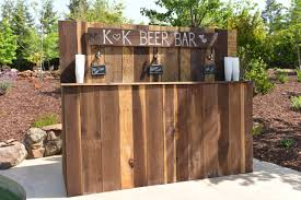 Portable Patio Bar Ideas by 5 Reasons You Should Build A Wedding Bar