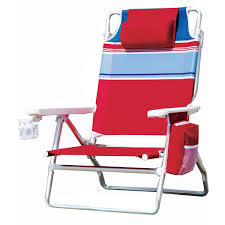 100 Nautica Folding Chairs Beach Chair Beach Stripe Red Aluminum Frame On PopScreen