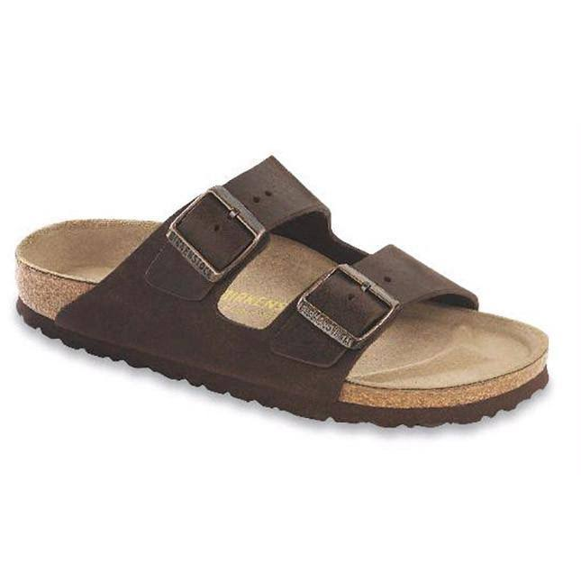 Birkenstock Arizona Soft Footbed Leather Sandal - Habana Oiled Leather, 40 M EU/9-9.5 B(M) US Women/7-7.5 B(M) US Men