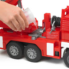Bruder Toys Fire Engine With Slewing Ladder/Water Pump/Lights/Sounds ... Bruder Mack Granite Fire Engine With Slewing Ladder Water Pump Toys Cullens Babyland Pyland Man Tga Crane Truck Lights And So Buy Mack Tank 02827 Toy W Ladder Scania R Serie L S Module Laddwater Pumplightssounds 3675 Mb Across Bruder Toys Sound Youtube Land Rover Vehicle At Mighty Ape Nz Arocs With Light 03670 116th By