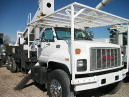 100 Bucket Trucks For Sale By Owner 1999 GMC C8500 Terrex HiRanger XT5570HL 75 Truck 55