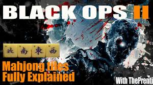 black ops 2 zombies die rise mahjong tiles fully explained
