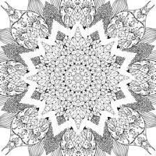 Free Mandala Coloring Pages For Adults AZ