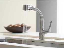 Kohler Forte Kitchen Faucet Wont Swivel by K 13963 Elate Kitchen Sink Faucet With Pull Out Sprayhead Kohler