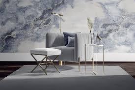 tapete fototapete wunschformat marmor stein hellblau glattfliess print edel stein terrazzo luxus grau