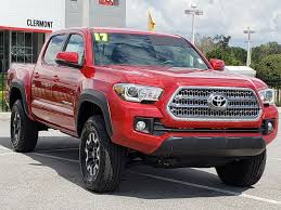 100 Used Four Wheel Drive Trucks For Sale Certified PreOwned 2017 Toyota Tacoma TRO Double Cab In Clermont