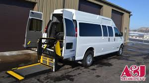 2010 CHEVROLET EXPRESS Non Branded Full Size Van Conversion Wheelchair For Sale