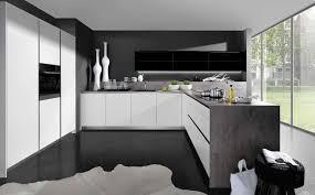 cuisine moderne blanche et cuisine blanc laque et gris moderne newsindo co