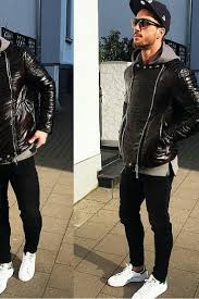 15 Coolest Ways To Wear Leather Jacket This Winter Stylish JacketsJackets For MenMens JacketsStylish MenLatest