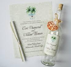 Beautiful Destination Beach Wedding Invitations Contemporary