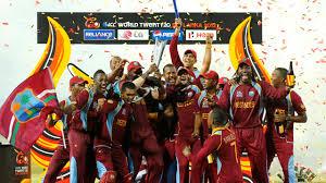 West Indies Cricket Team Celebrate World Twenty20 Victory