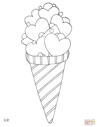 Click The Love Ice Cream Coloring Pages To View Printable Version Or Color It Online Compatible With IPad And Android Tablets
