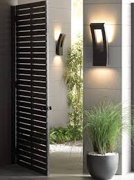 contemporary outdoor wall lights and contemporary