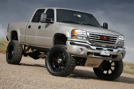 Cool: Lifted GMC Truck - Off Road Wheels