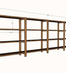 2x4 garage shelves 2x4 storage shelves plans basement plans