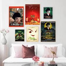französisch amelie wand kunst leinwand malerei nordic poster und drucke wand bilder für wohnzimmer decor