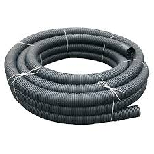Perforated Drain Tile Sizes by Perforated Land Drain Coil Pipe 160mm X 50m Drainage Superstore