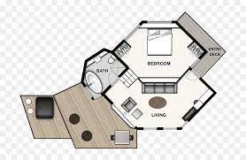 104 Tree House Floor Plan Png Download Simple S Transparent Png Vhv