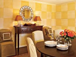 Easy Ways To Warm Up Your Home Decor This Old House Dining Room Walls With Painted Checkered Design