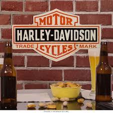 Harley Davidson Bar And Shield Tin Garage Sign