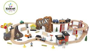 Spiral Christmas Trees Kmart by Kidkraft 60 Piece Construction Zone Train Set Only 48 49 Reg