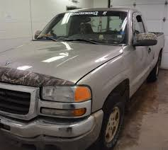 Police Release Photos Of Suspected Truck In Aboriginal Man's Hit-and ... 2003 Gmc Sierra 2500hd 600hp Work Truck Photo Image Gallery Wheel Offset Gmc 2500hd Super Aggressive 3 Suspension 1500 Pickup Truck Item Dc1821 Sold Dece Used For Sale Jackson Wy 2500 Information And Photos Zombiedrive 3500 Utility Bed Ed9682 News And Reviews Top Speed 032014 Chevygmc Suv Ac Compressor Failure Blog On Welaine Anne Liftsupercharged 2gtek19v831366897 Blue New Sierra In Ny Best Image Gallery 17 Share Download