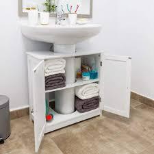 kleiderschrank schrank für waschbecken holz unterschrank weiss badezimmer 60x30x60 cm