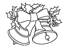 Christmas Bells Coloring Pages Inside