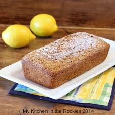 French Yogurt Cake with Lemon and Poppy Seeds by My Kitchen in the