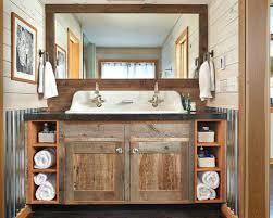 Double Faucet Trough Sink Vanity by Double Trough Sink Vanity U2013 Meetly Co