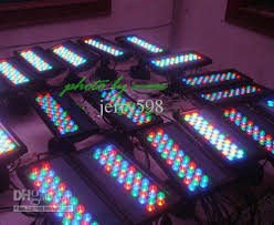 36 3w rgb led wall washer waterproof led floodlight stage light