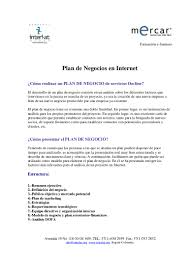 InterlatOrg Plan De Negocios En Internet