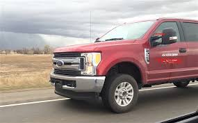2017 Ford Super Duty F-350 XLT Caught Highway Testing [Spied] - The ... Lot 99 Llc Photos For 2008 Ford F250 Super Duty Lariat Crew Cab Unveils Ultraluxe 2013 Fseries Platinum Motor Trend Custom Trucks Brooks Dealer Harwood Future Of Tough Tour Lets You Drive 2017 Recalls 13 Million Over Door Latch Issue Sema Show Truck Lineup The Fast Lane 2015 First Look 2000 F650 Xl Box Truck Item Da3067 Sold 2018 Max Towing And Hauling Ratings 1999 F350 Xlt 73l Power Stroke Diesel Utah Used 2011 Srw Sale In Albertville Al