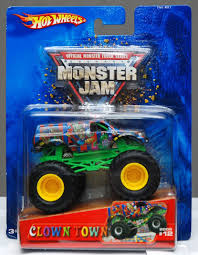 Monster Jam Hot Wheels 2005 Clown Town Monster Truck 12