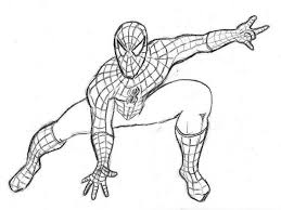 Printable Spiderman Coloring Pages Kids Print Pictures To Superhero