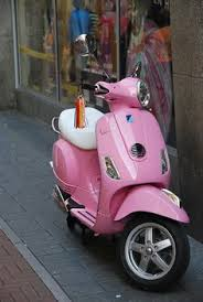 Pink Vespa Onesie Shell Be A Stylish Baby Ciao